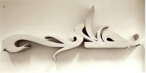 Sculpture - Letter 'S' by shixe