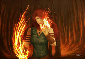 Circe Bell - The Flame of The Forest by Timothi-Ellim