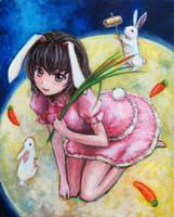 Tewi Inaba by tafuto001