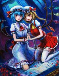 Scarlet Sisters by tafuto001
