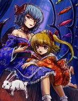 Scarlet Sisters2_Sketch by tafuto001
