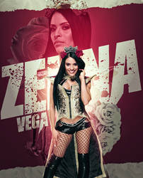 Zelina Vega | Roses by SkyHighRollins