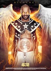 Ricochet | NXT North American Champion by SkyHighRollins