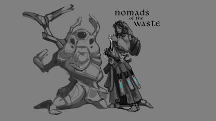 Nomads of the Waste by Voxicon