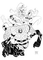 Fantastic Four by alessandromicelli