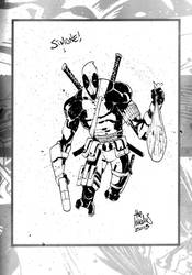 Sketchbook Sketch 32: Deadpool! by alessandromicelli