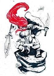 Red Sonja by alessandromicelli