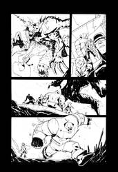 Marvel Test Page1 by alessandromicelli