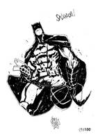 Sketchbook Sketch 2013: Batman! by alessandromicelli