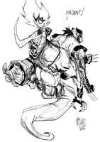#2 Sketchbook Sketch 2014 by alessandromicelli
