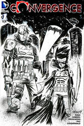 Red Hood and Robin by alessandromicelli