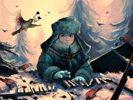 Ignore the sparrows by AquaSixio