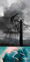WIP Defy the sky by AquaSixio