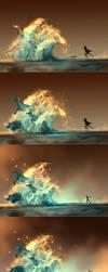 WIP of Mana Tide by AquaSixio