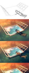 WIP of Sweet Vertigo by AquaSixio