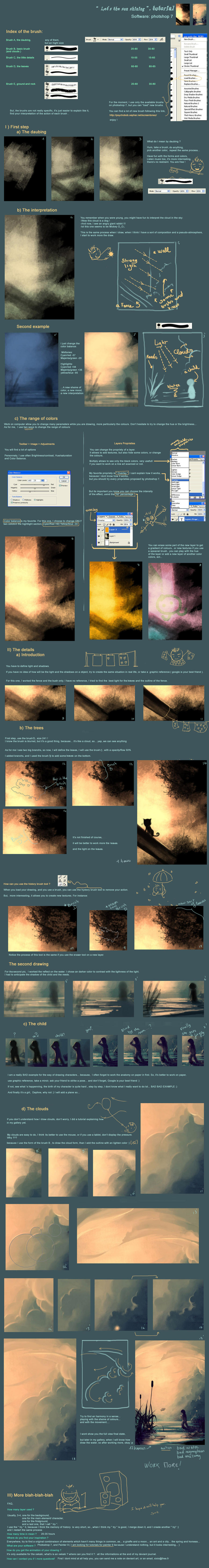 Tutorial 3 Let the sun shine in by AquaSixio