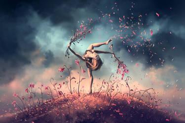 VIRGO from the Dancing Zodiac by AquaSixio