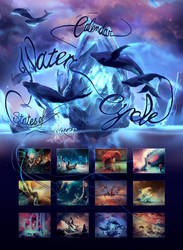 Calendar 2019 States of Water States of mind by AquaSixio