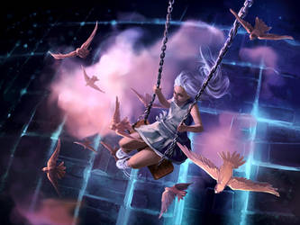 The great escape by AquaSixio