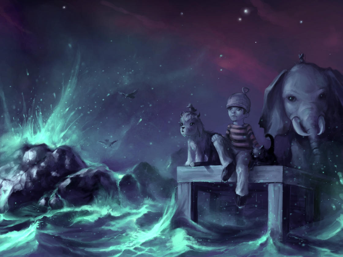 I don't come from.. an ocean by AquaSixio