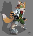 Fox McCloud by Rasmussen891