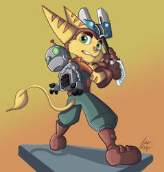 Ratchet and Clank2 by Rasmussen891