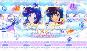 Tagwall Presentation Nagi No Asukara duo by MateNeo
