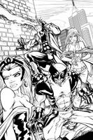 X-Men by tannerwiley