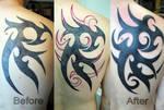 Fix of tattoo by gettattoo