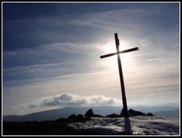 Cross on the hill Vysoka by Rumburak512