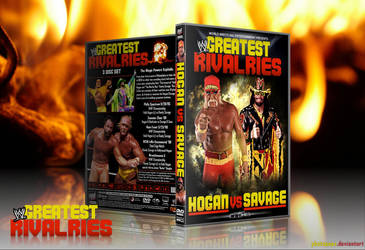 Greatest Rivalries: Hogan vs Savage by Photopops