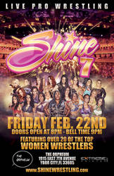 Shine 7 poster by Photopops