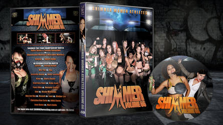 Shimmer 66 dvd cover and disc by Photopops