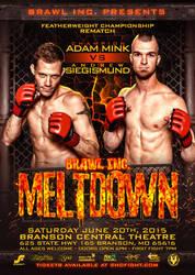 Brawl Inc: Meltdown main event promo by Photopops