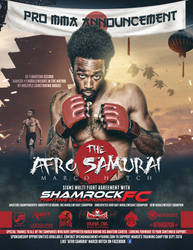 The Afro Samurai Marco Hutch promo announcement by Photopops