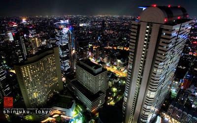 Shinjuku, Tokyo by venthor