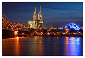 Cologne at Night IV by Dr007
