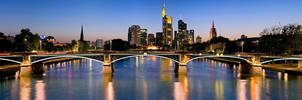 Frankfurt panoramic III by Dr007
