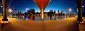 Frankfurt panoramic V by Dr007