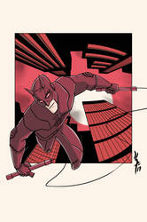 Daredevil by JohannLacrosaz