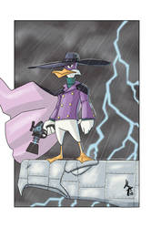 Darkwing Duck by JohannLacrosaz
