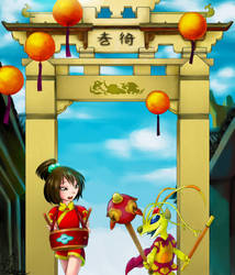[Request] Ai Ling and Sparky by Shay-rin