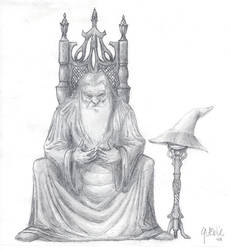 Retired Wizard by GrantWilson