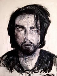self portrait by Rhyn-Art