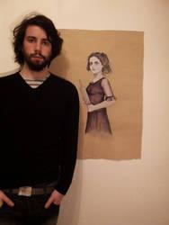 Self portrait / art by Rhyn-Art