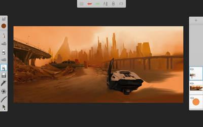 Wip Blade Runner by Rhyn-Art