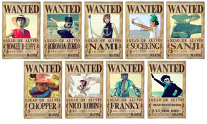 One Piece: Wanted List by eLLeDejaVu
