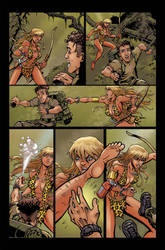Sheena: Queen of the Jungle - Issue 2 Page 1 by 80percentstudios