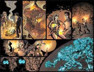 Sheena: Queen of the Jungle - Issue 3 Page 16-17 by 80percentstudios