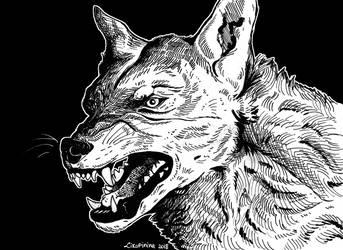 Anger (Inktober #24) by Likopinina